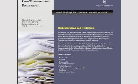 Anwalts-Webseite