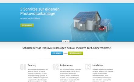 Solarcenter Hessen Webseite