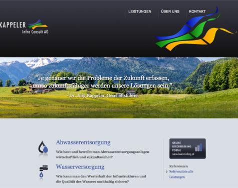 Relaunch für Schweizer Beratungsfirma Kappeler Infra Consult